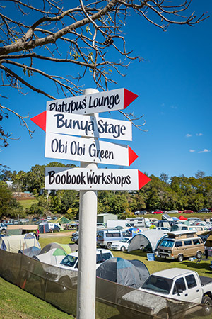 Festival Signpost